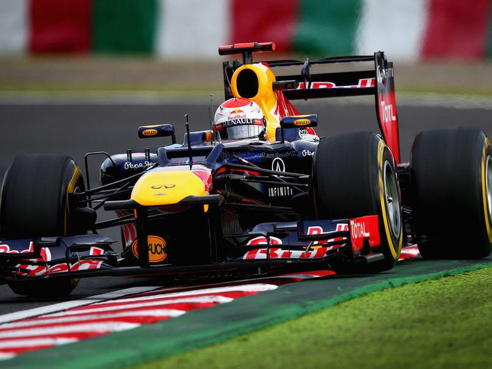 Red Bull en Japón 2012