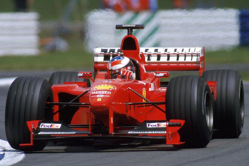 Michael Schumacher en su Ferrari