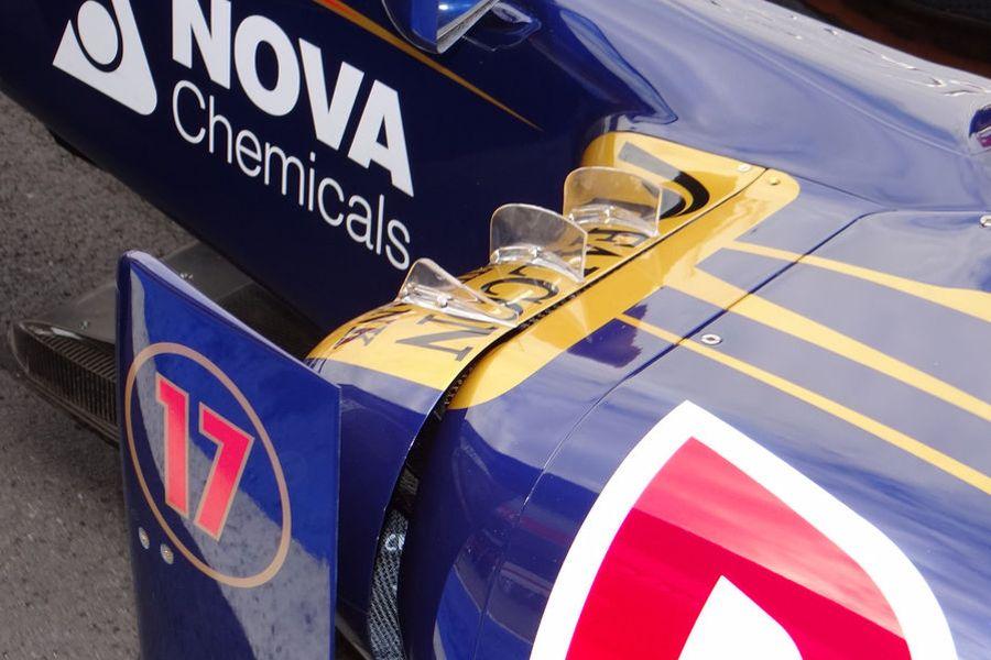 Generadores de vórtices Toro Rosso