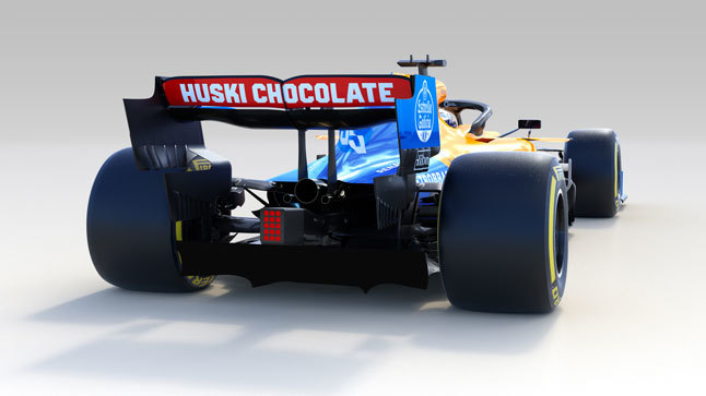McLaren alerón trasero