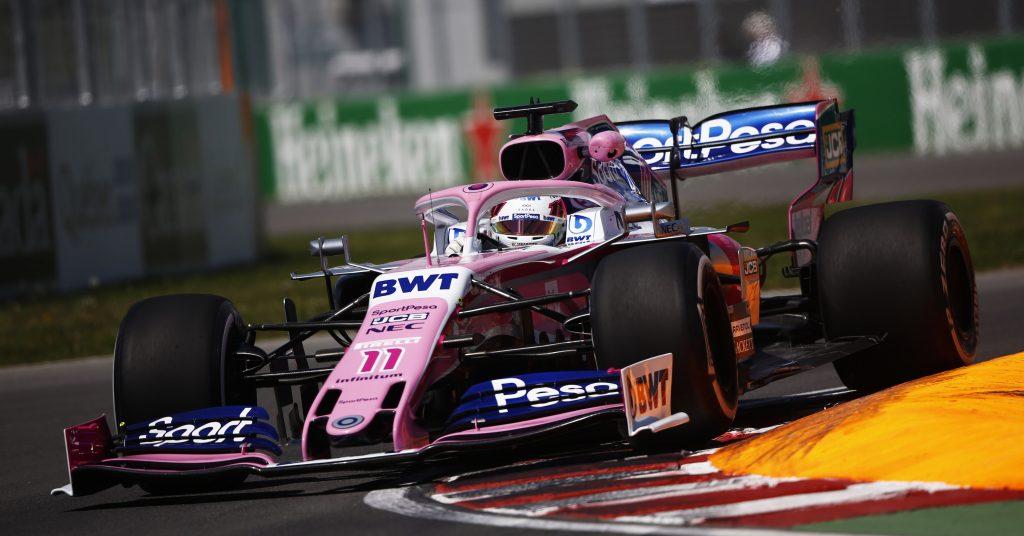 Alerón trasero F1
