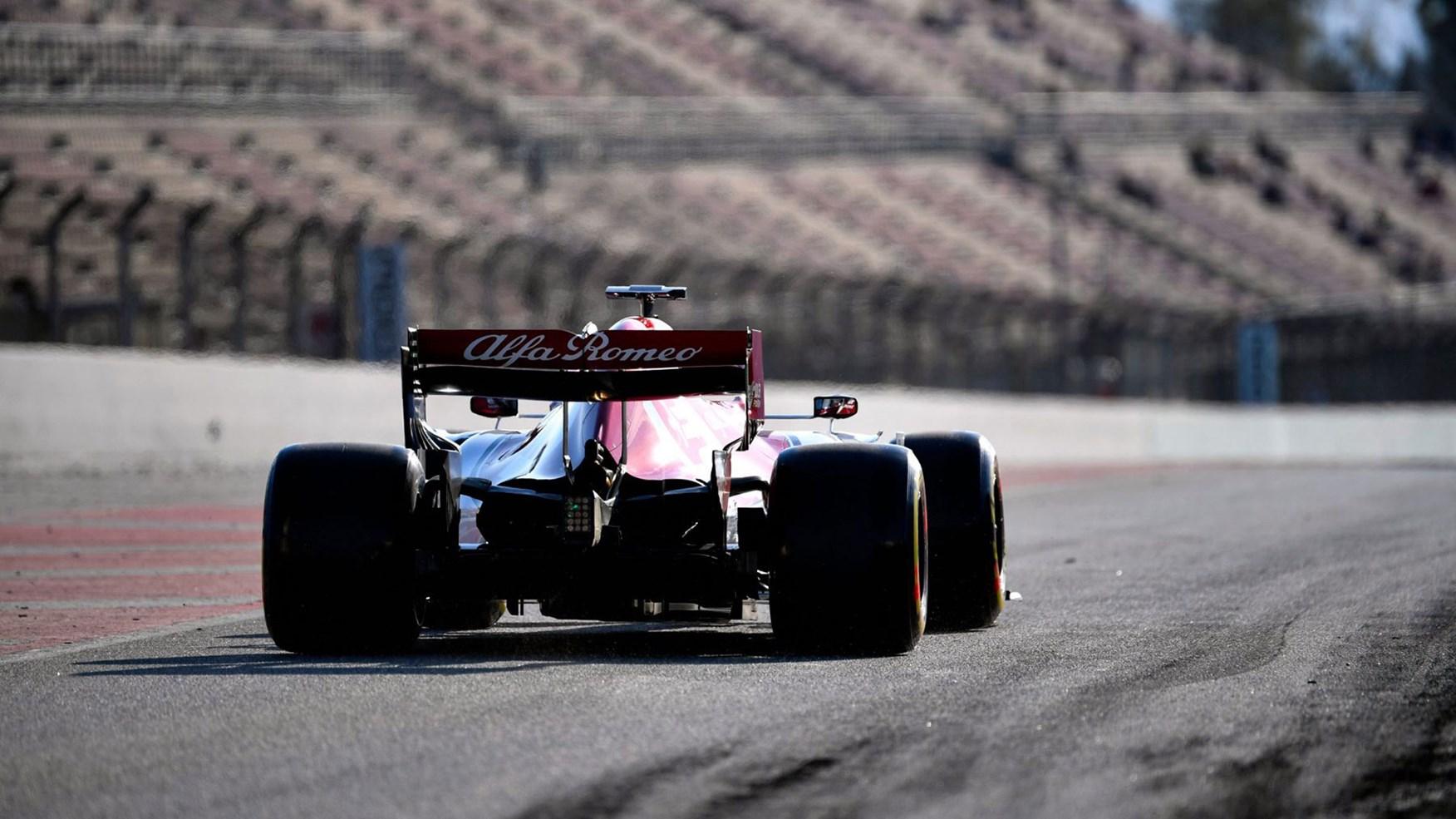 Alerón trasero Alfa F1