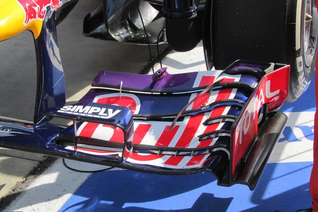 Generador de vórtices Red Bull
