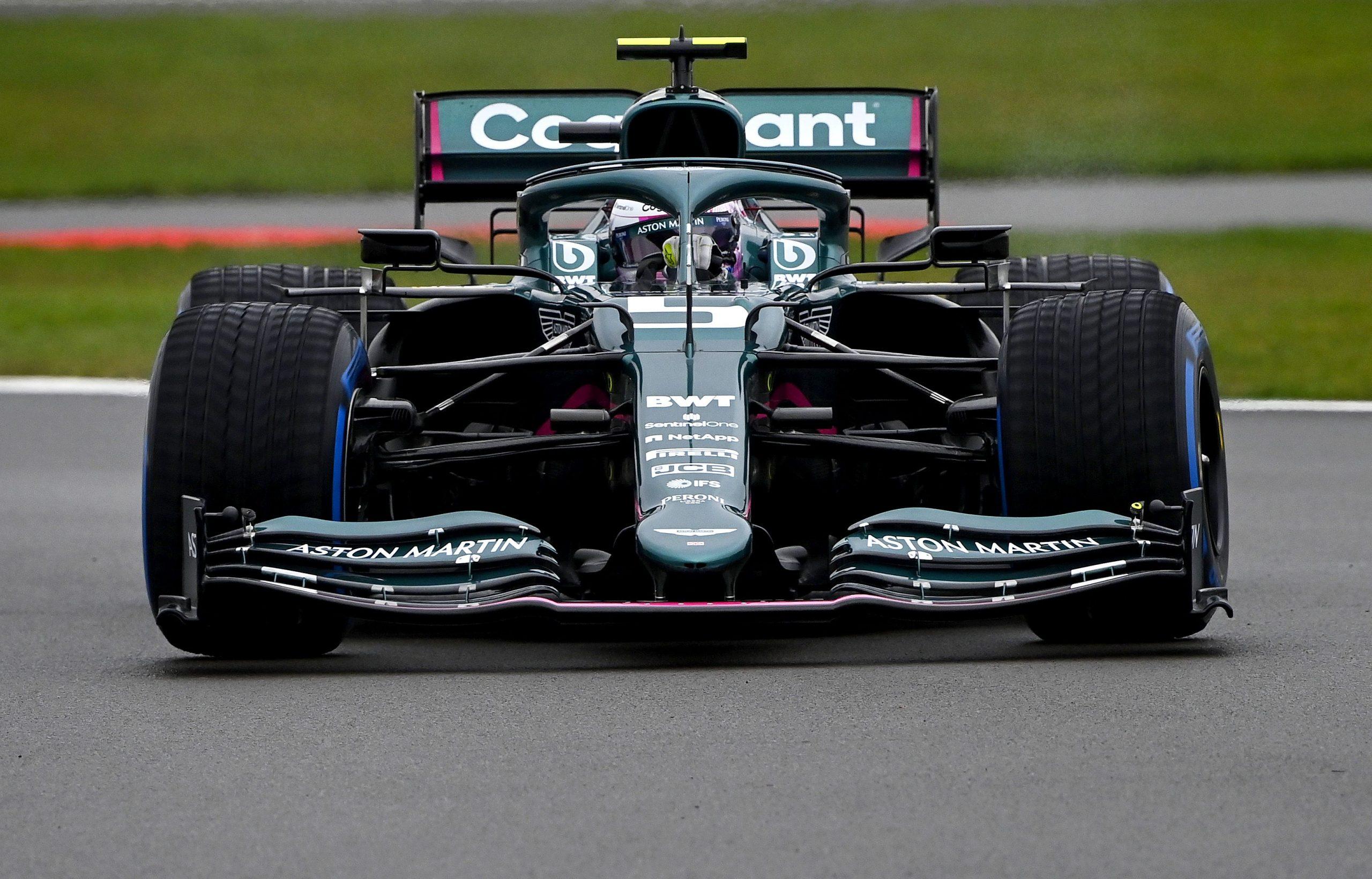 Alerón trasero Vettel