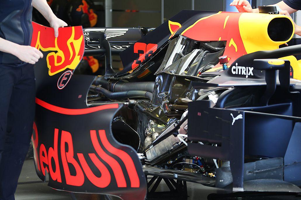 Red Bull radiators