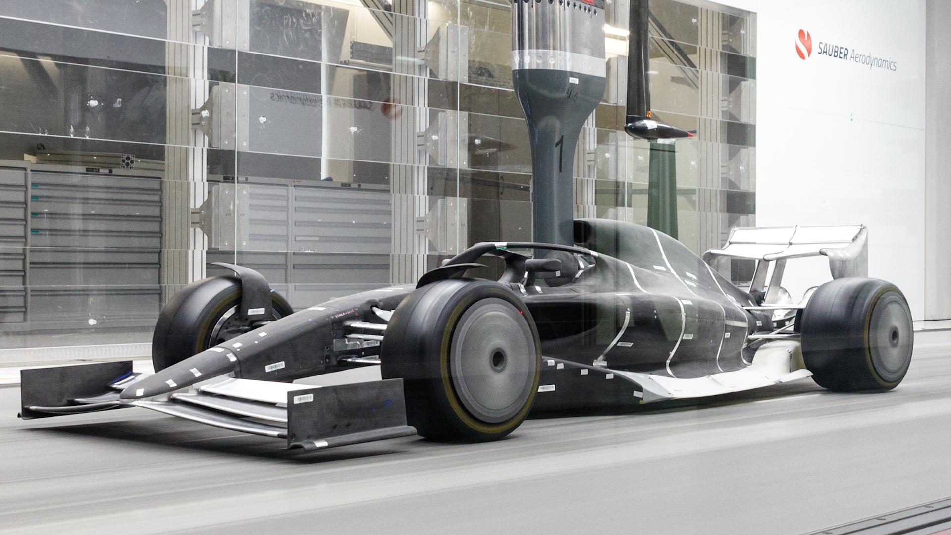 Túnel de viento F1 2021