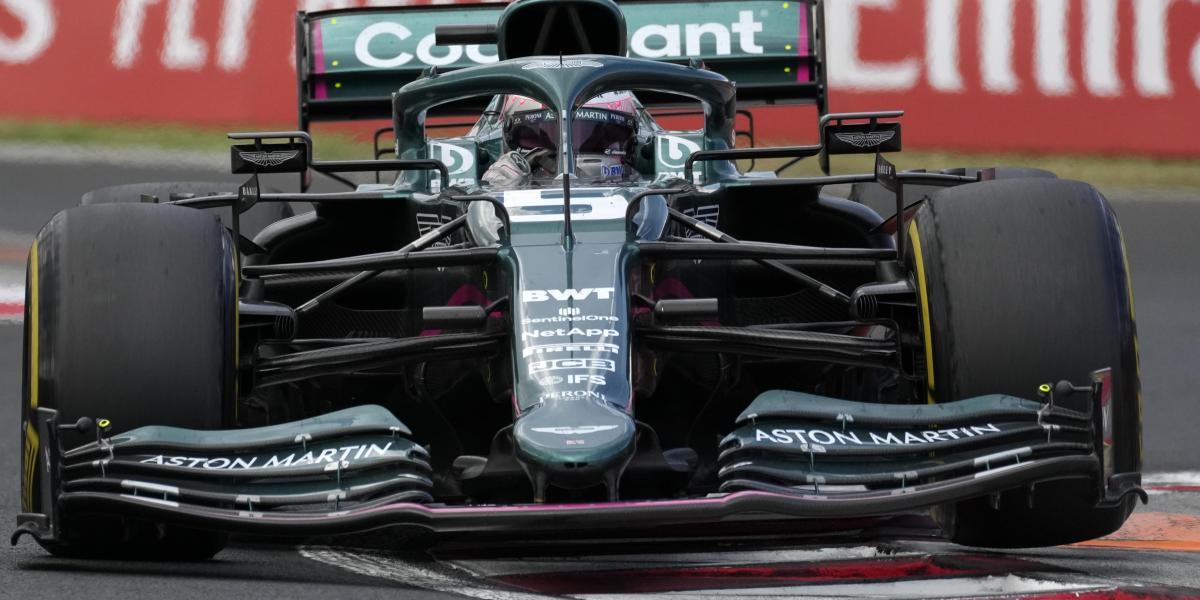 Alerón delantero Vettel  F1