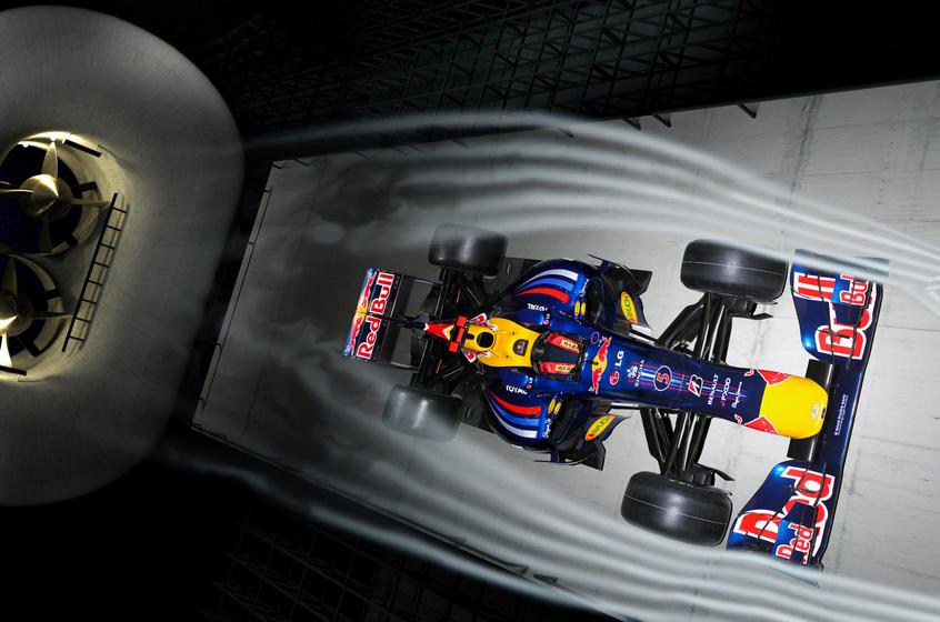 Tunel de viento Red Bull