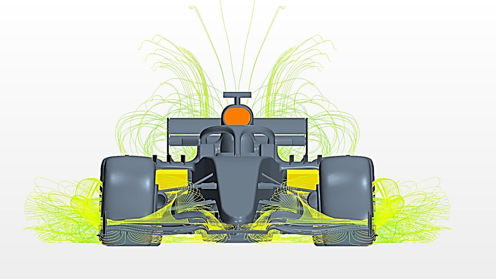 Formula 1 CFD