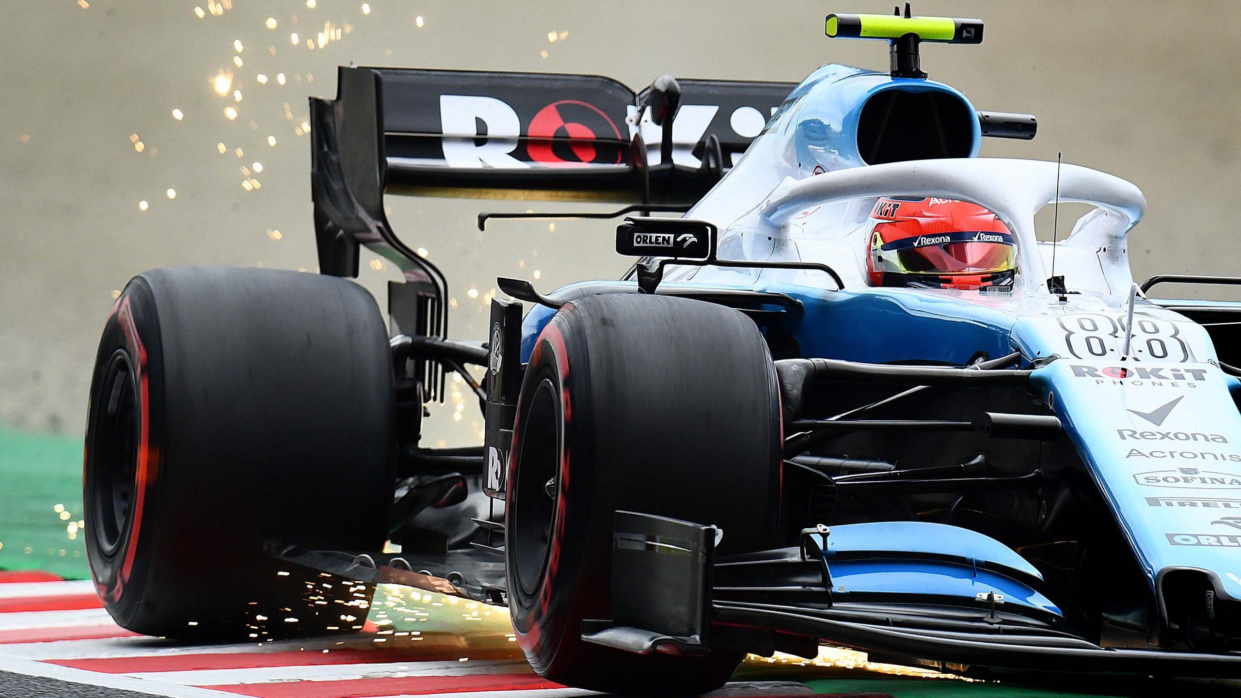 Williams F1 rueda