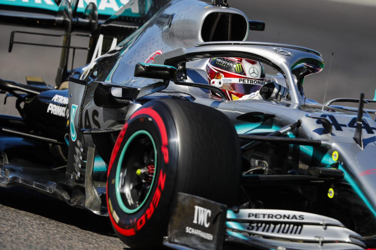 Mercedes F1 rueda
