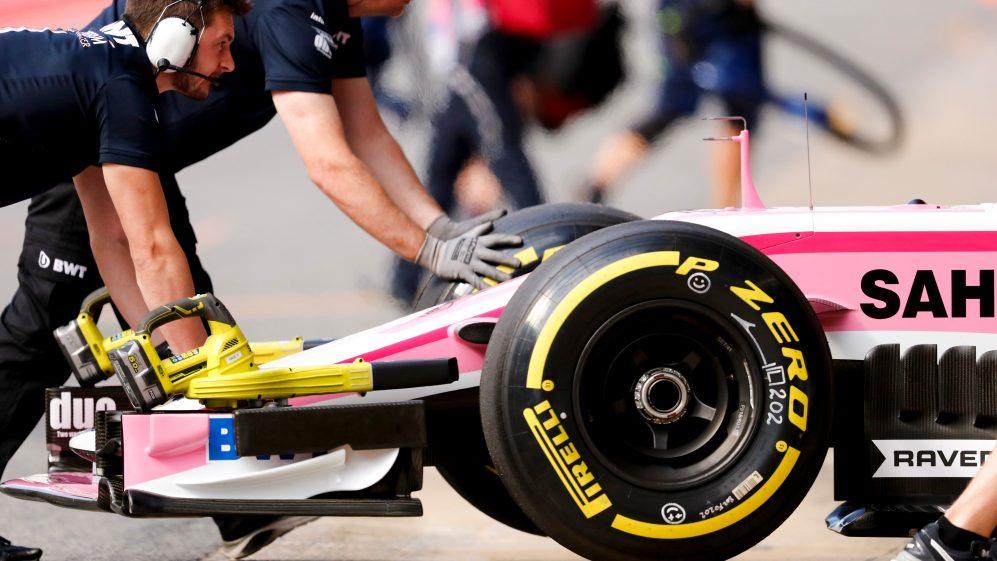 Racing Point ruedas