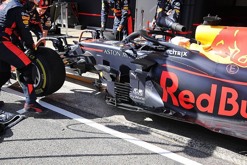 Red Bull turning vane