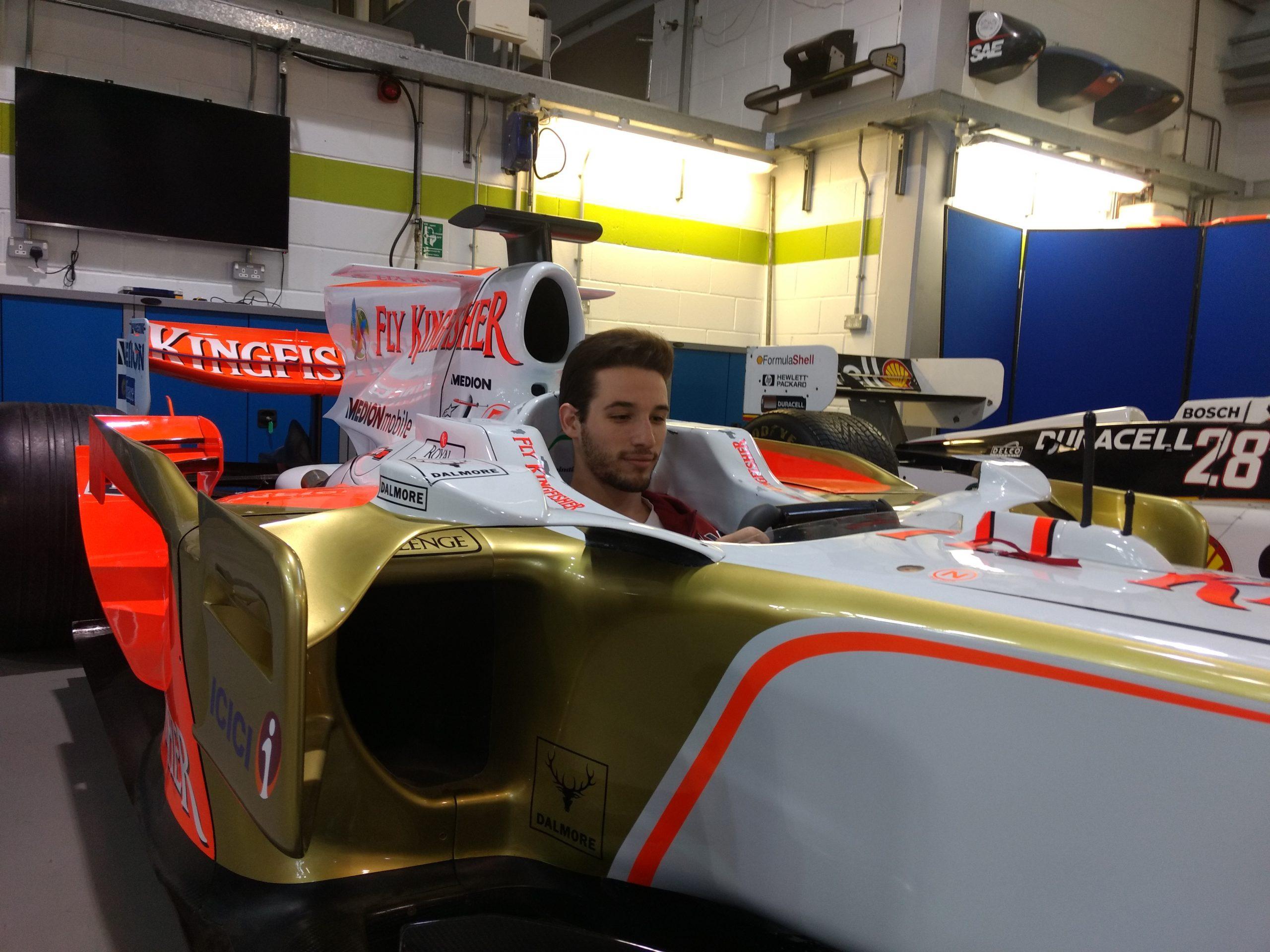 Juan Andrés Breme Racing Point