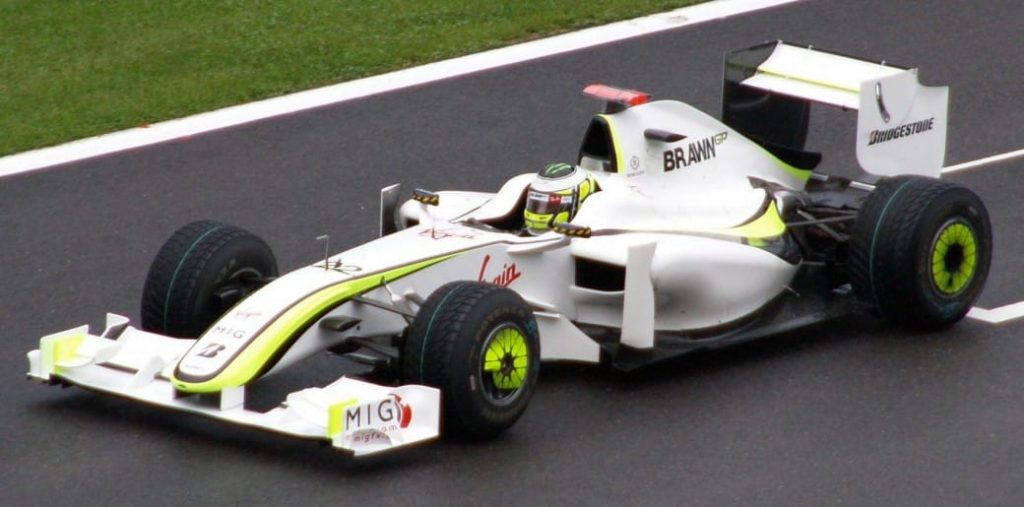 Brawn GP Button
