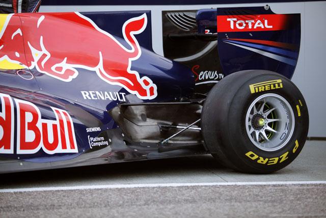 Red Bull difusor soplado