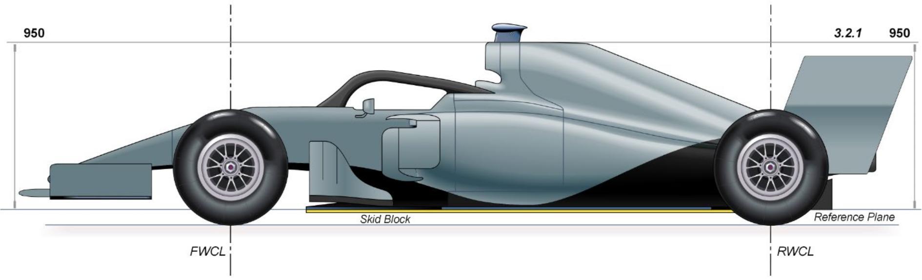 F1 normativa alerón