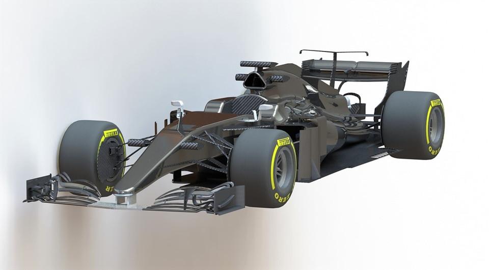 CAD Monoplaza F1