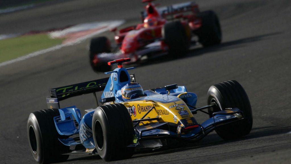 Alonso Renault 2006 Ferrari Schumacher