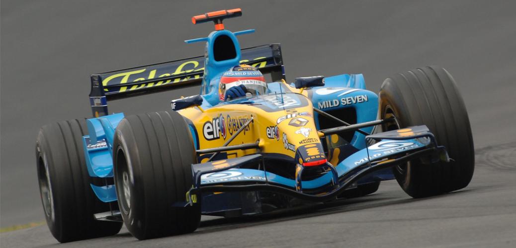 Renault 2005 Fernando Alonso