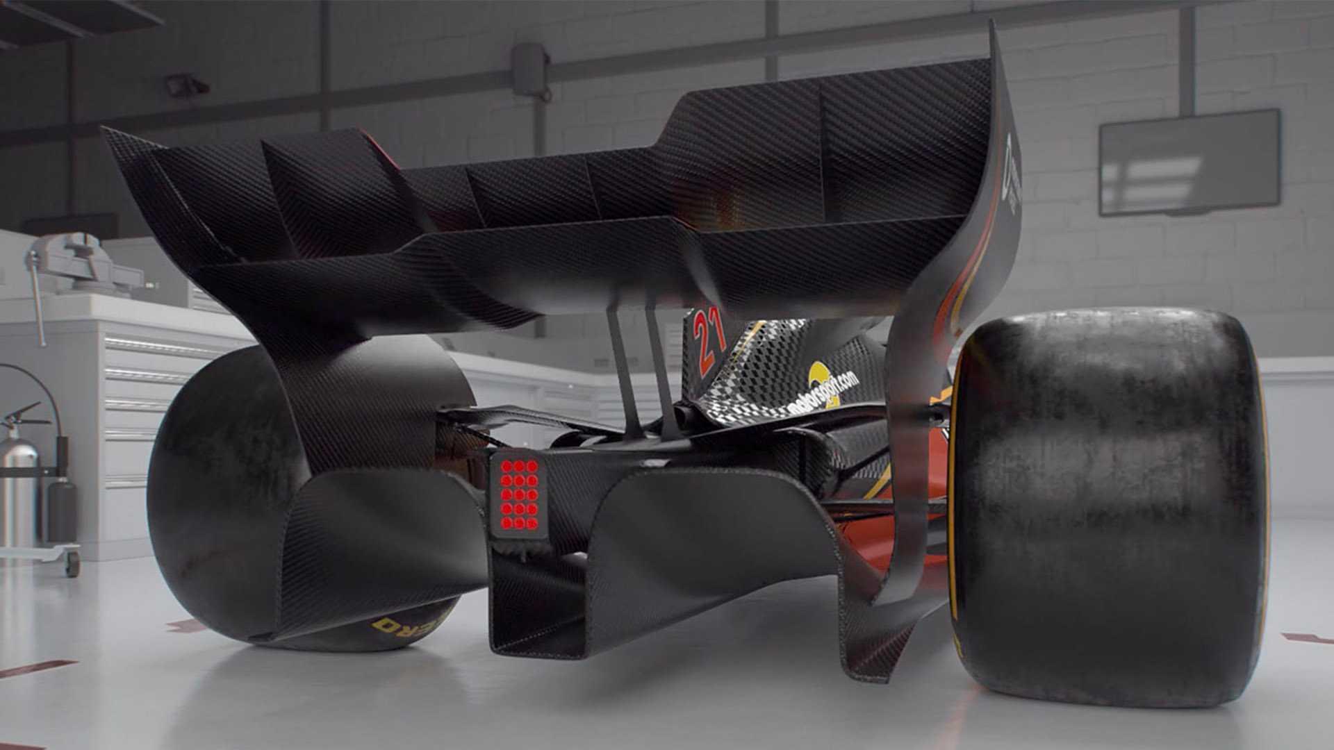 Normativa F1 2022