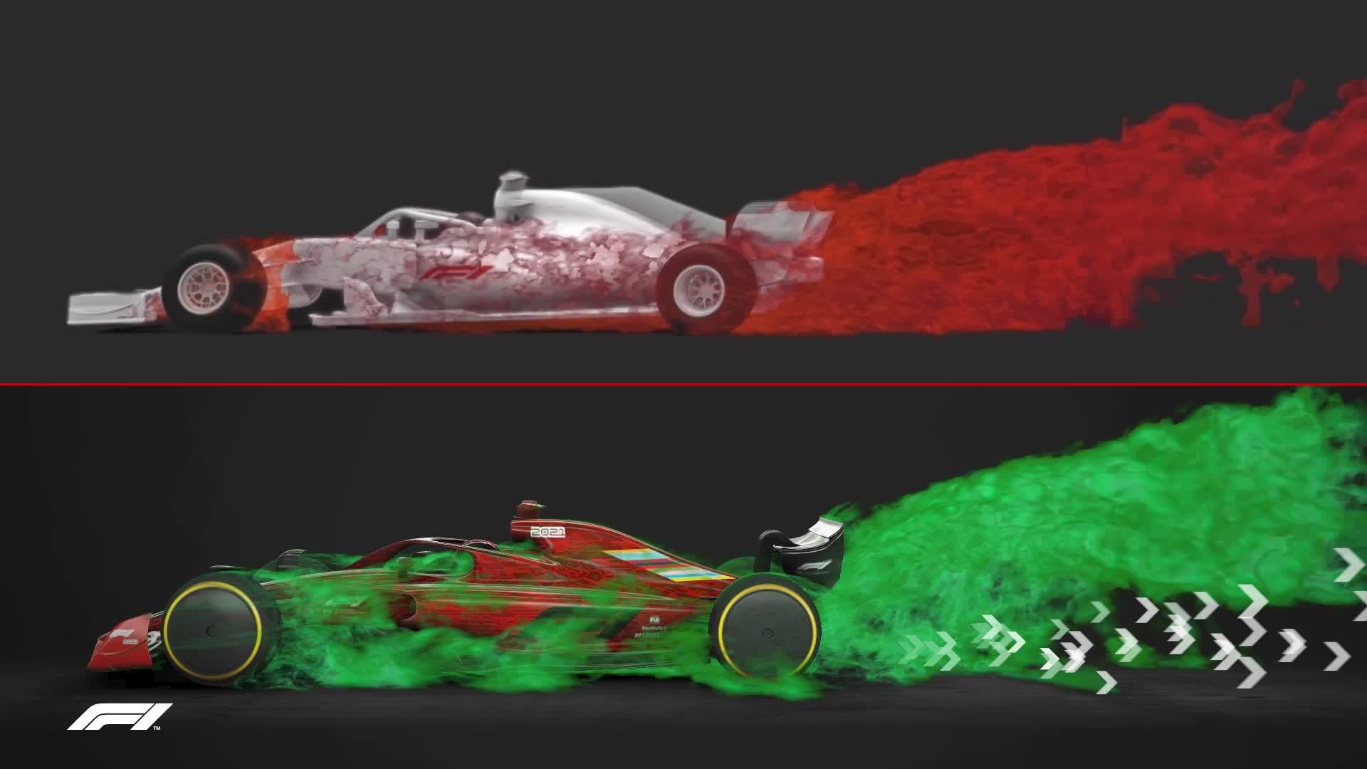 Aire sucio F1 2022