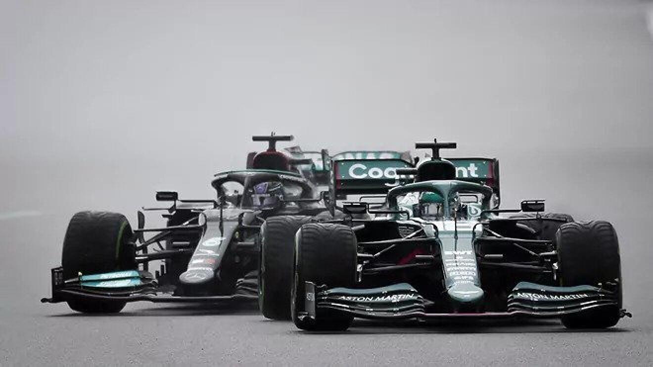 Aquaplaning F1